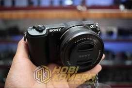 Kamera mirrorless Sony A5100 Lensa 16-50mm Af FULLSET Black