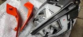 KTM Duke 390 LED headlight for 250