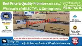Led Tvs Smart\Plain\4k Uhd All Variants|GamingItem(Best Price|Quality)