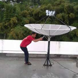 ahli pasang parabola digital RCTI lengkap