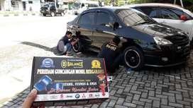 BALANCE peredam Guncangan mobil, solusi utk REDAM LIMBUNG
