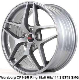 velg lubang 5 WURZBURG CF HSR Ring 18X8