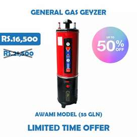 Electric +gas geyser at direct factory price