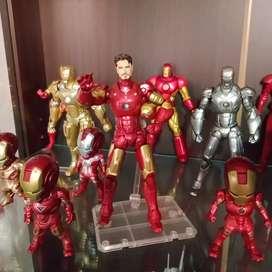 Iron Man Revoltech Mark 3 dan Mark 21 BIB Original