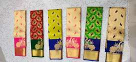 Low and costly fancy sarees