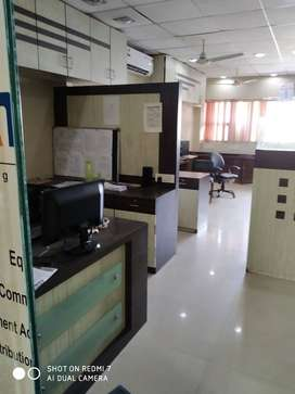 furnised office rent in ring road