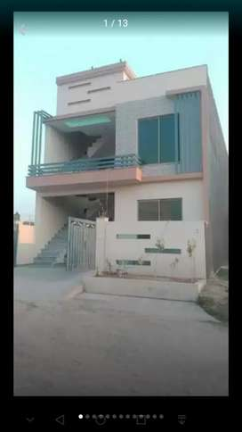 Ground Floor of brand new house is available for rent at I-14