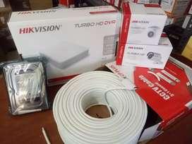 HIKVISION CCTV CAMERA SYSTEMON EASY INSTALLMENTS