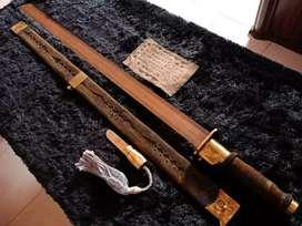 Samurai Selendang Merah Bata (anti magnet)