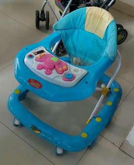 Baby walker blue