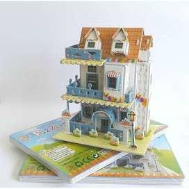Puzzle 3D, mainan edukatif