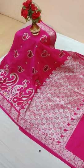 Fansy banarsi soft saree