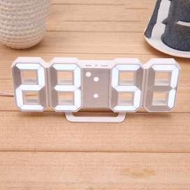 Moseko Jam Modern 2020 Meja LED Digital Clock