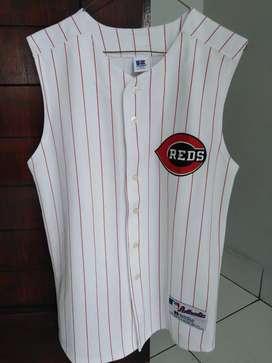 Sleveless Baseball Cincinnati Reds