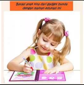 Mainan Edukasi Anak MAGIC COLORING BOOK