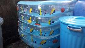 Kolam bayi lebih luas dan bahan tebal