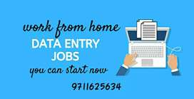 Vacancies for data entry work