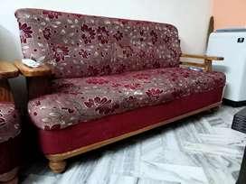 Take wood sofa 3 in1