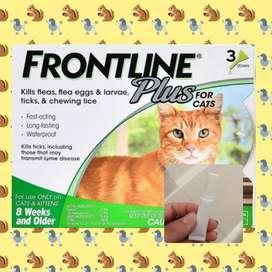 Frontline Plus Obat Kutu Kucing 100% Original REPACK / SHARE PACK