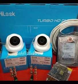 CCTV Murah SPC/DAHUA 2MP Paket 4 Channel -
