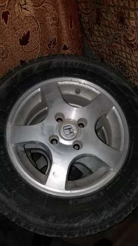 13 size rim and tyres for sale