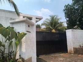 Rumah mewah rempoa bintaro jl H ilyas cash only