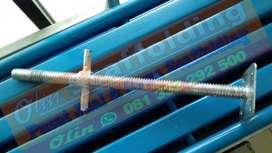 Jack base scaffolding merk SM diameter 30mm
