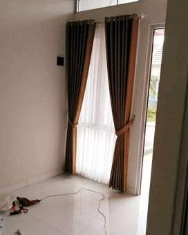 Gorden korden gordyn series-5085 dekorasi rumah yang sejati