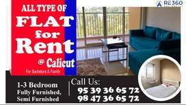 Rent flat available in all projects in Calicut.