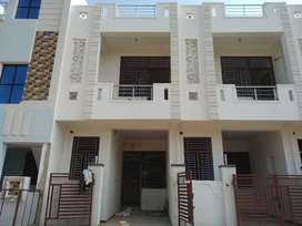 jda independed house 78sq.yard 3bhk duplex rate 32 only