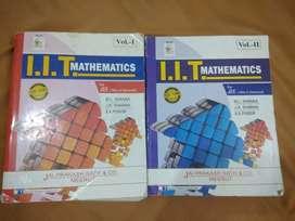 IIT mathematics set of 2 volumes by M.L.Khanna