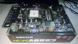 MOTHERBOARD BIOSTAR HIFI A85S3