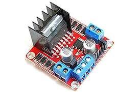 Arduino Motor Shield and 4498 stepper driver and L298D Driver