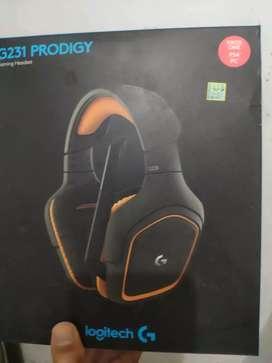 Headphone Logitech G231 Prodigy Mulus Garansi