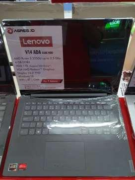 Laptop Lenovo V14 AMD Ryzen 3 RAM 4GB HDD 1TB Terbaik di Surabaya