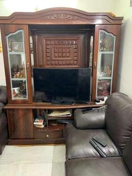 Showcase & TV stand