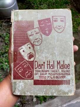 Buku Psikologi Antik Tentang Rasa Malu thn 1936
