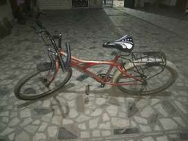 Hero cycle ,red colour