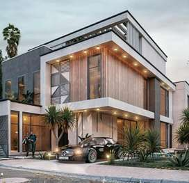 Luxury villa in your land
