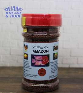 Pelet Pakan Makanan Louhan Amazon Full Red