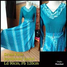 Dress kaos murah