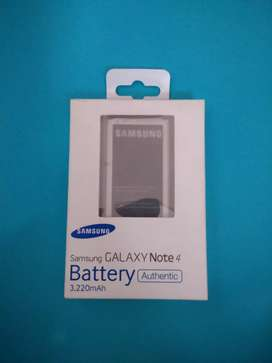 BATRE NOTE 4 SAMSUNG ORIGINAL
