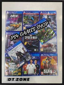 PS4 GAMES SHOP - New Ps4 Games Available at best price @dtzone