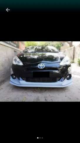 Body kit fibre plastic mix double coating