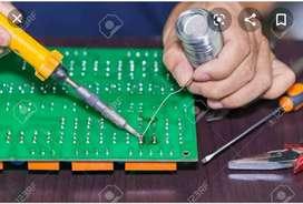 Technician for soldering