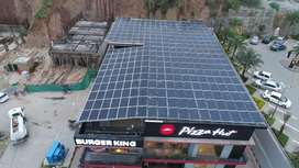 Solar hybrid system with netmetering high quality product 25 year wrty