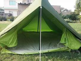 Tent for tour