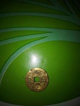 Coin lama bolong tengah