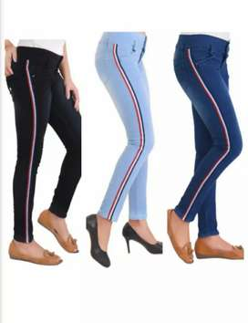 Ladies jeans Fully stretchable Wholesale only