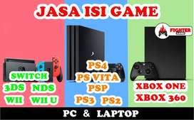 I.S.I Game ps4,ps3,ps2,xbox one,xbox 360,ps vita,psp,switch,3ds,wii,pc